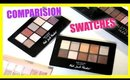 Revlon Not Just Nudes Palettes vs. L'oreal La Palette Nude & Maybelline The Nudes Palette