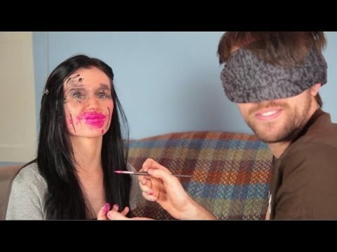 Blindfolded Makeup Challenge With Brad Woto Emma Pickles
