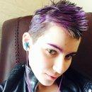 Purple Mohawk