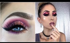 Juvia's Place The Masquerade Mini Palette ♡ First Impressions & Makeup Tutorial