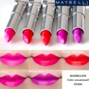 Maybelline Color Sensational Vivids Lipstick Swatches