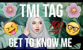 GET TO KNOW ME (TMI TAG) | HAZIMAH SYAHINDAH