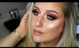 Dramatic Fall Glam Makeup Tutorial | Purple Fall Makeup 2019