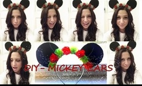 DIY - MICKEY MOUSE EARS (DISNEYLAND SERIES)
