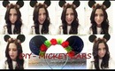 DIY - MICKEY MOUSE EARS (DISNEYLAND SERIES)