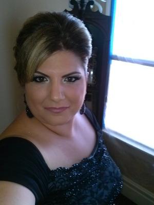 Wedding day of my God daughter