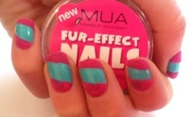 Flocking powder nails (MUA fur effect)