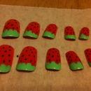 Strawberry Nails :)