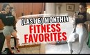 Monthly Fitness Favorites | Plus FREE GYM WORKOUTS? | Vlogmas Day 4 [2019]