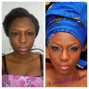 Before and after look
