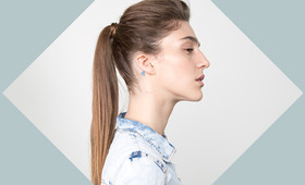 The Secret To Getting More Volume in Your Ponytail