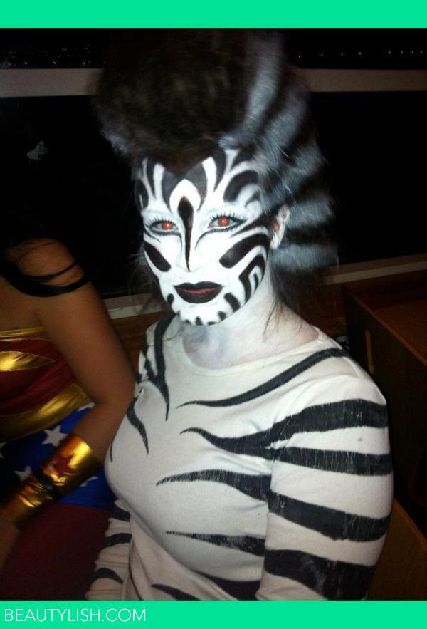 Zebra Halloween Costume