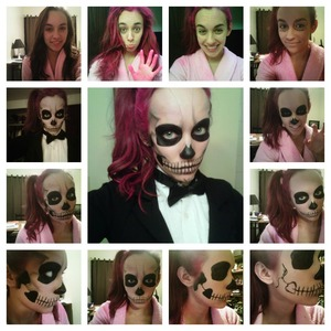 My Halloween costume this year. Inspired by Lady Gaga and Rick Genest.