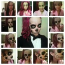 "Lady Gaga ""Born This Way"" Halloween Make Up"