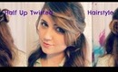 Half-up Twisted Curly Hairstyle Tutorial Perfect for Wedding, Valentines Day or a Special Date
