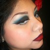 Pin Up Style Makeup