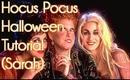 Hocus Pocus Inspired Halloween Makeup Tutorial (Sarah Sanderson)