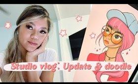 Studio Vlog: 2020 Update, New Etsy shop, & Doodle hyper lapse