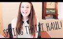 Spring Thrift Haul!