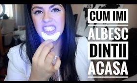 #BeautyAtHome - Cum imi albesc dintii acasa