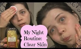 My Night Routine: Clear Skin