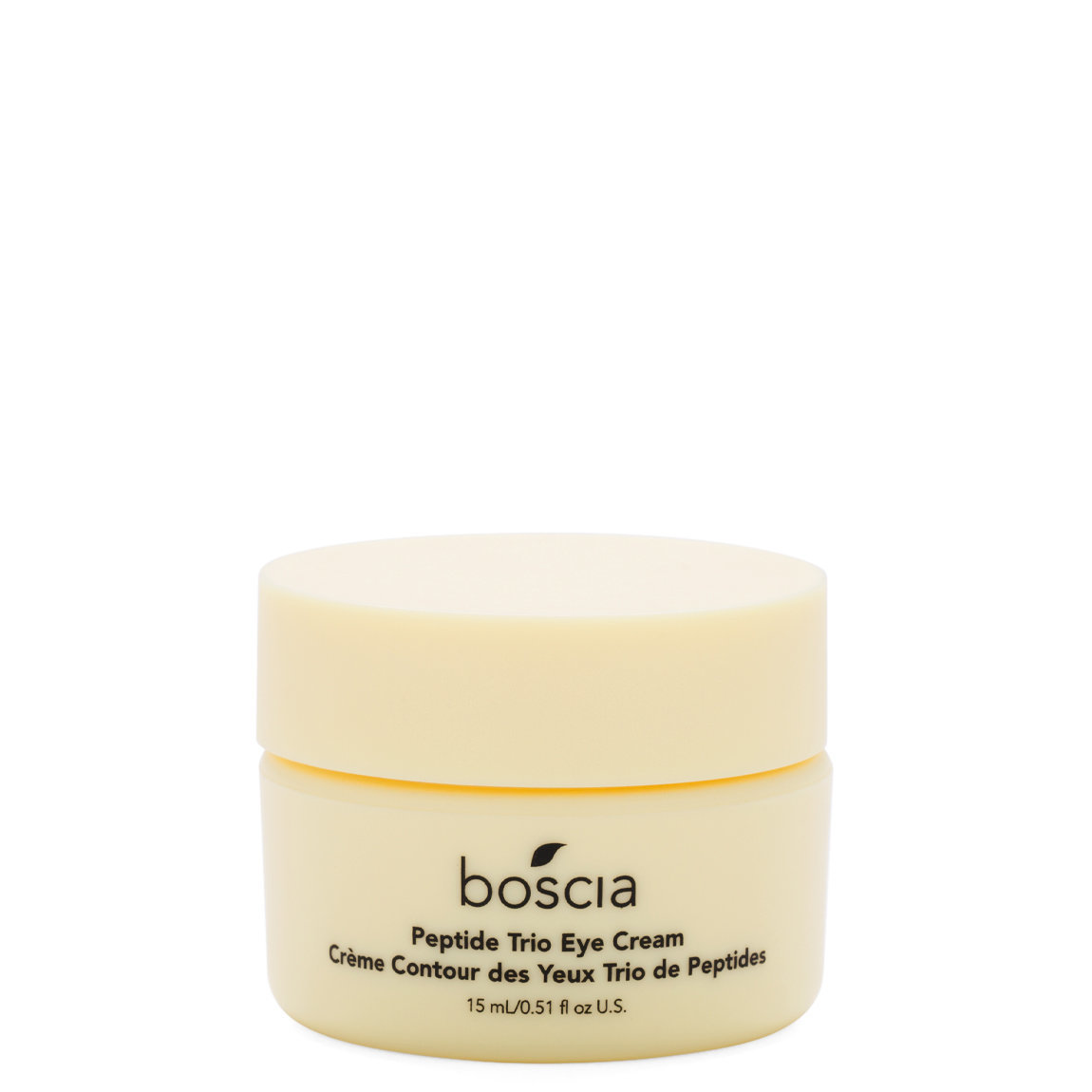 boscia Peptide Trio Eye Cream product smear.