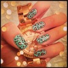 Mint and Rose Gold Leopard :)