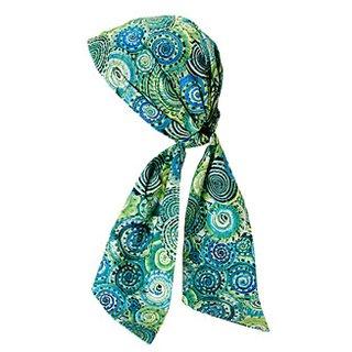 L. Erickson USA  It's A Wrap– Funkadelic Green Cotton