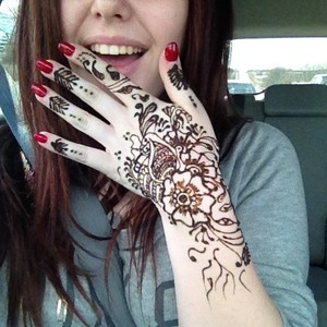 First Henna Tattoo What Do You Think Beautylish
