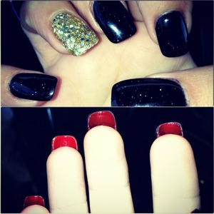 Christian Louboutin Inspired Nails.