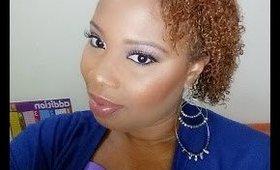 Cool Toned Eye Makeup feat. Sleek Makeup Storm Palette