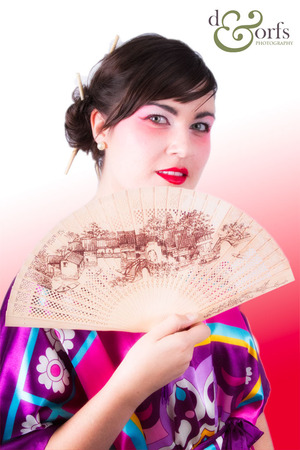 Chinese Opera  makeup for a client Photo courtesy of d&orfs photography