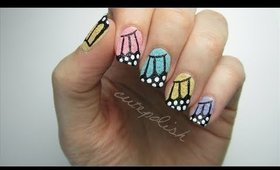 Textured Butterfly Nails!