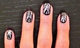 Another Zebra Nail Art Tutorial!