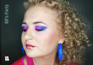 80's party make up