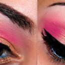 Gold & Pink Look