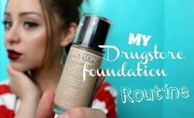 Drugstore Foundation Routine ♡