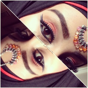 Arabic inspired eyes
