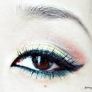 Colourful Eye Look