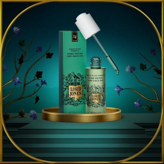 Alternate product image for Pore Detox CBD Face Oil shown with the description.