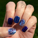 Zoya Zenith Simple Nail Art