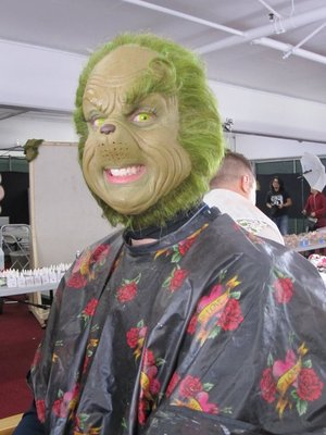 Makeup I did for Universal Studios Grinchmas 2010