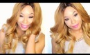 Big Bouncy Curls + HOW I GET MY HAIR LAID! (How to Pin Curl) | Malaysian Virgin Hair