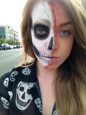 Zombie walk look :)