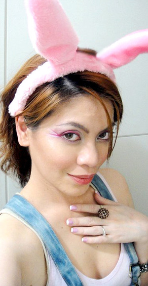 My Chinese New Year 2011 (year of the Rabbit) look.