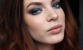 Makeup Tutorial: Midnight Blue Smokey Eyes