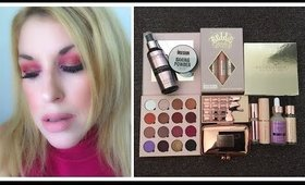 Full Face Of Makeup Revolution Featuring Obsession x Belle Jorden Collection