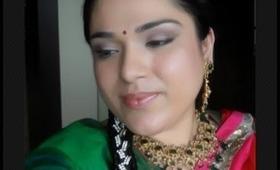 Wedding Series Mehendi Look