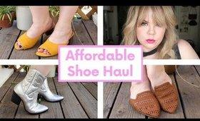 Affordable Spring Wide Shoe Haul   Plus Size Fashion