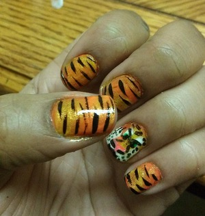 tiger strips